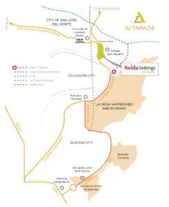 Altaraza Vicinity Map