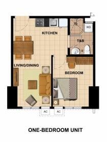 Tower 2- 1 Bedroom