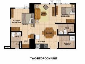 Tower 2-2 Bedroom