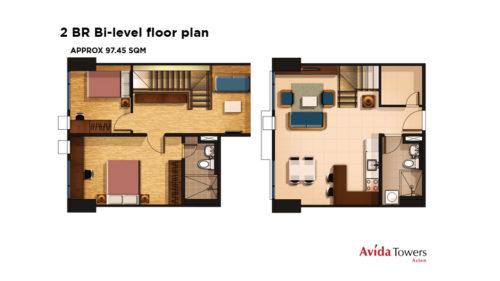 2 Bedroom Bi LEvel