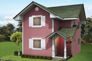 Emelee Basic/Standard Floor Area: 105 sq.m. Minimum Lot Area: 155 sq.m.