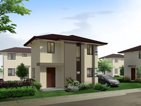 Maia Total Useable Area : 69 sq.m. Covered Porch Area: 3 Basic/Standard Floor Area: 66 sq.m. Minimum Lot Size: 142 sq.m.