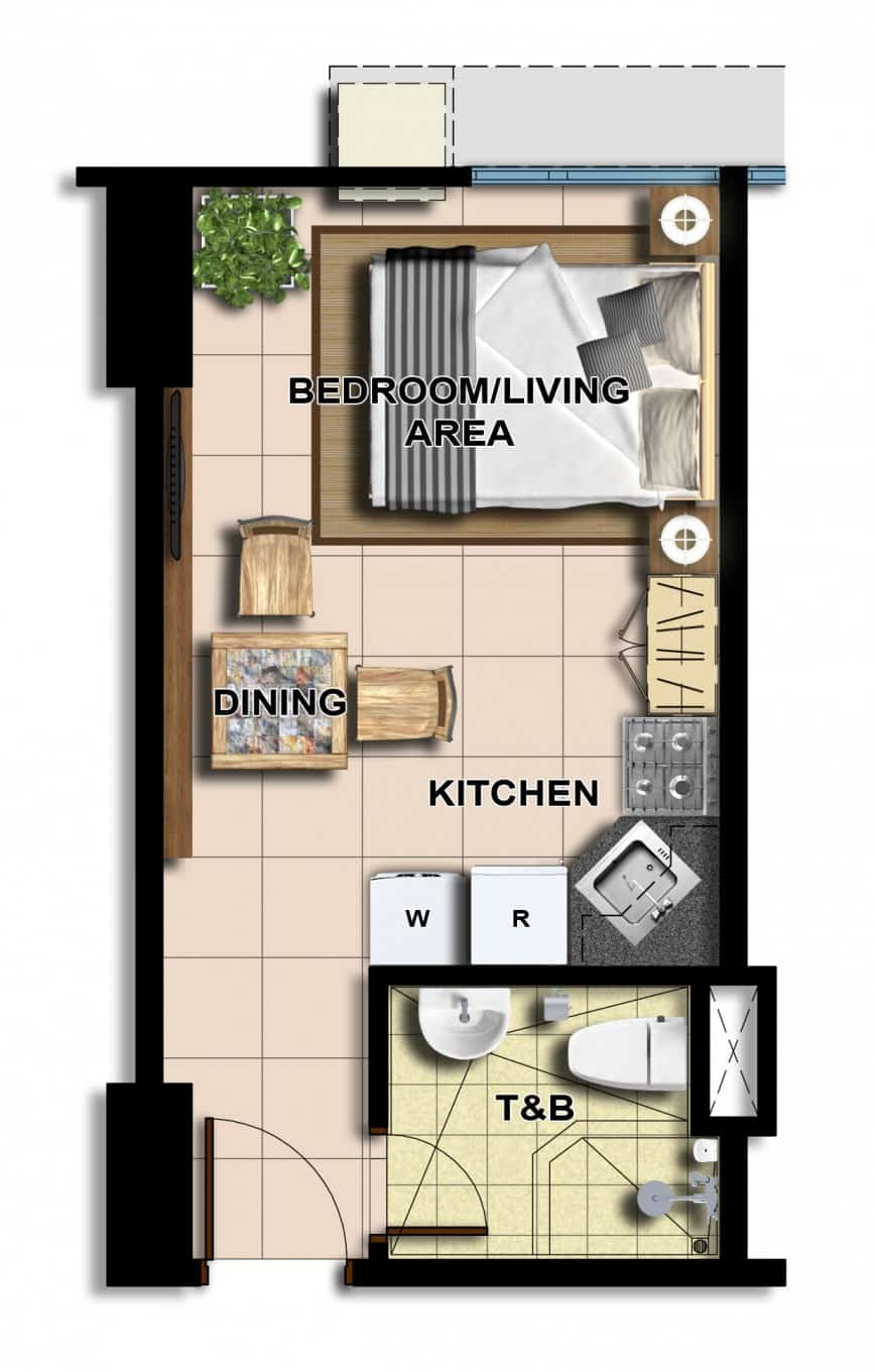 Interesting studio type house plan gallery best for Studio type house design