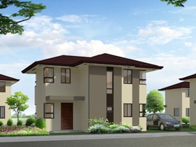 Thea Total Useable Area : 88 sq.m. Covered Porch Area: 4 Basic/Standard Floor Area: 84 sq.m. Minimum Lot Size: 156 sq.m.