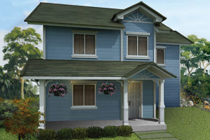 Triana Basic/Standard Floor Area: 131 sq.m. Minimum Lot Area: 194 sq.m.