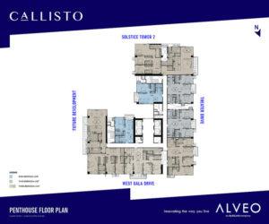 Callisto Floorplans
