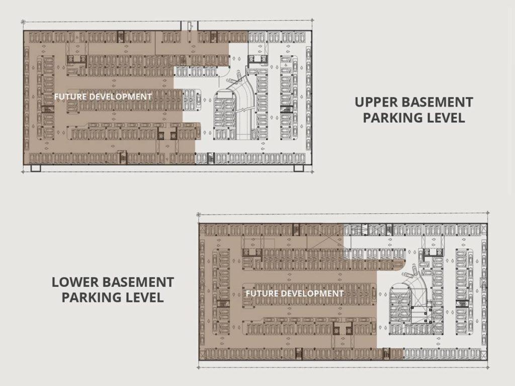 Upper and Lower Basement
